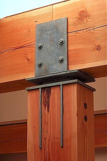 ite arquitectes - estructura uniones madera
