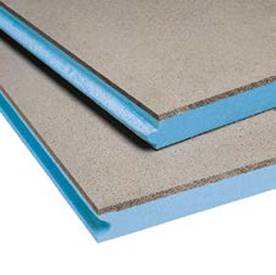 Thermal insulation / rigid panel / extruded polystyrene / for roofs