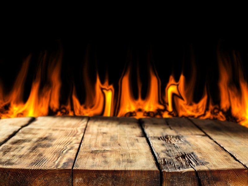 Reaccion fuego madera